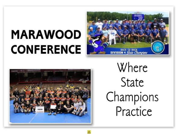 Welcome to the Marawood Conference